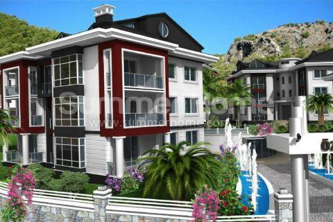 Pôvabné apartmány na predaj vo Fethiye