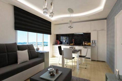 Cenovo prijateľné apartmány na predaj v Alanyi - Fotky interiéru - 4