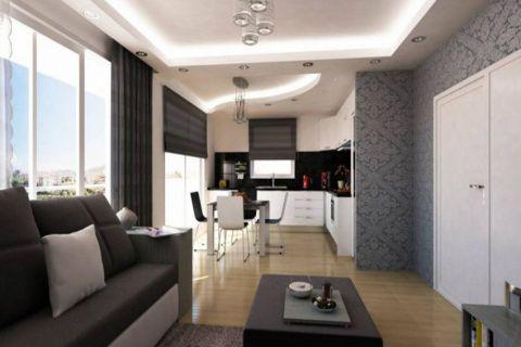 Cenovo prijateľné apartmány na predaj v Alanyi - Fotky interiéru - 6
