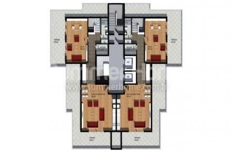 Cenovo prijateľné apartmány na predaj v Alanyi - Plány nehnuteľností - 16