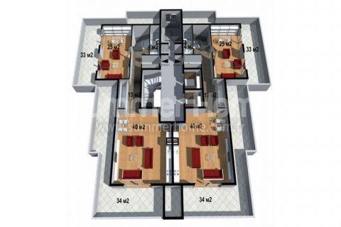 Cenovo prijateľné apartmány na predaj v Alanyi - Plány nehnuteľností - 18