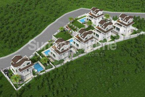 Nádherné vily na predaj vo Fethiye - 10