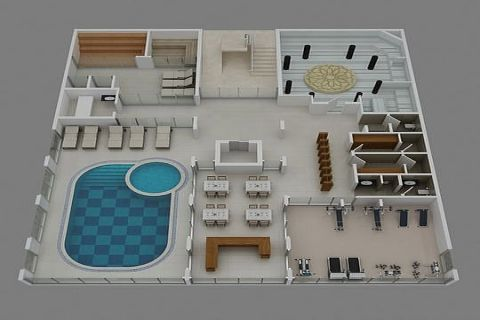 Konak Beach Apartments - Eiendoms planer - 38