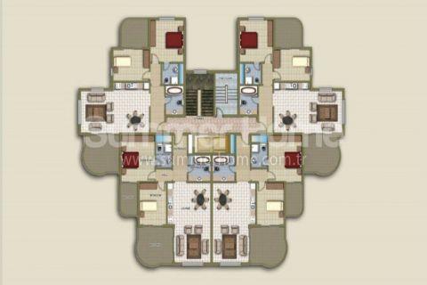 Dobré apartmány na predaj v Alanyi - Plány nehnuteľností - 47