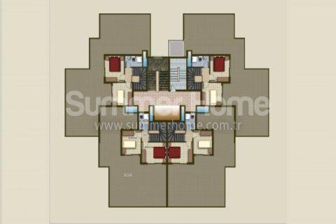 Dobré apartmány na predaj v Alanyi - Plány nehnuteľností - 49