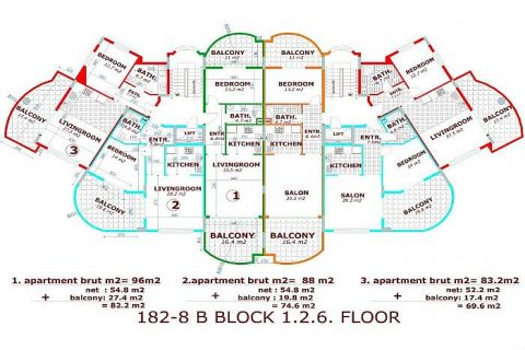 Moderne komplexe II Orange Garden,Alanya,Cikcilli - Immobilienplaene - 34