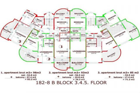 Moderne komplexe II Orange Garden,Alanya,Cikcilli - Immobilienplaene - 36