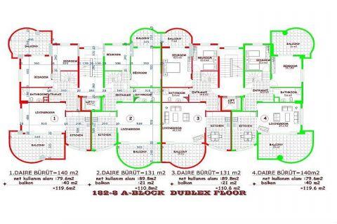 Moderne komplexe II Orange Garden,Alanya,Cikcilli - Immobilienplaene - 31