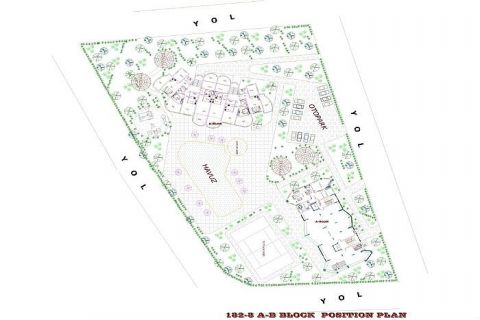 Utopia III - Orange Garden apartmány v Alanyi - Plány nehnuteľností - 40