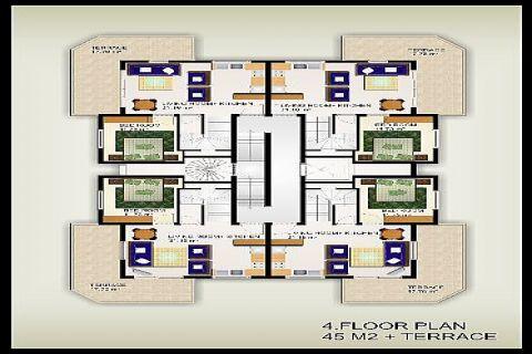 Albayrak Residences Wohnungen,Alanya,Oba - Foto's Innenbereich - 19