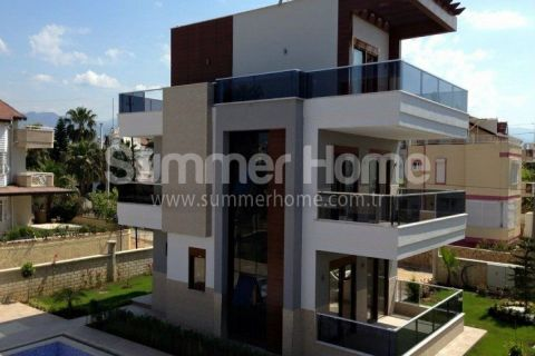 Excellent Triplex Villas with Modern Design in Konakli, Alanya