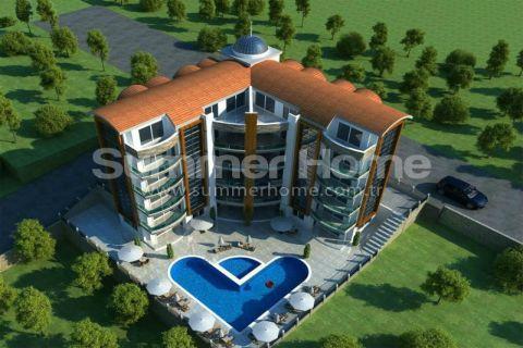 Квартиры с восхитительным видом в Кестеле, Алания - 2