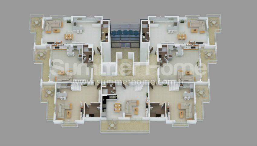 阿拉尼亚中心的专属美景公寓 plan - 1