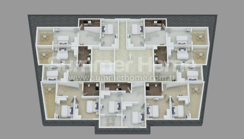 阿拉尼亚中心的专属美景公寓 plan - 2