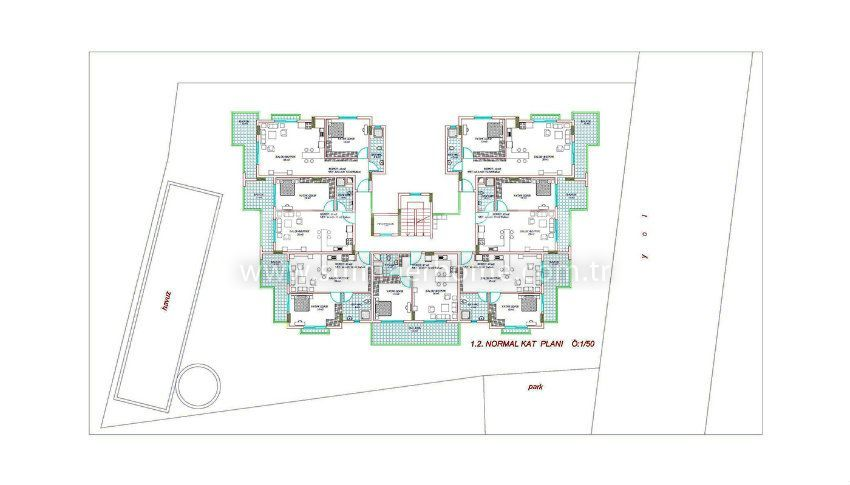 阿拉尼亚中心的专属美景公寓 plan - 4