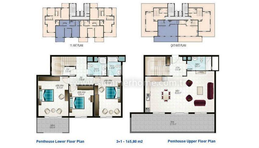 阿拉尼亚马赫穆特拉尔的廉价公寓 plan - 2