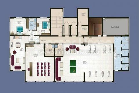 Apartmány s nízkymi cenami v Alanyi - Plány nehnuteľností - 18