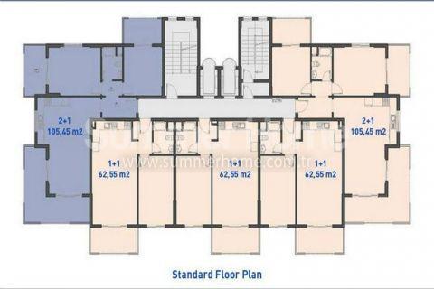 Apartmány s nízkymi cenami v Alanyi - Plány nehnuteľností - 19