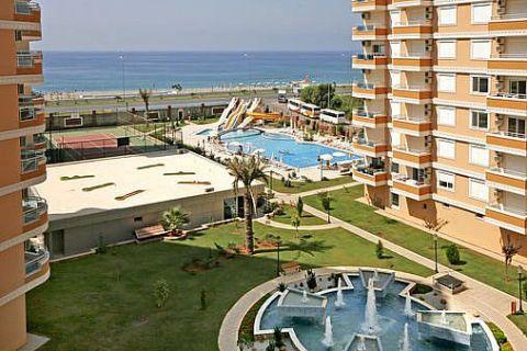Apartmány v Euro Vip Residence s výhľadom na more v Alanyi - 11