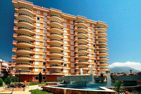 Apartmány v Euro Vip Residence s výhľadom na more v Alanyi - 12