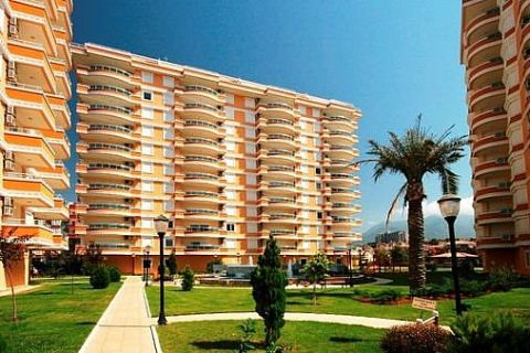 Apartmány v Euro Vip Residence s výhľadom na more v Alanyi - 13