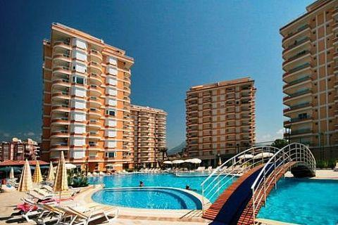 Apartmány v Euro Vip Residence s výhľadom na more v Alanyi - 14
