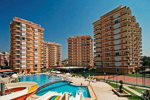 Apartmány v Euro Vip Residence s výhľadom na more v Alanyi - 15