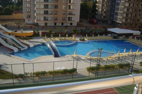 Apartmány v Euro Vip Residence s výhľadom na more v Alanyi - 21