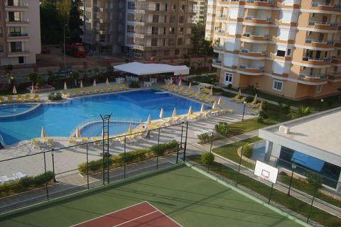 Apartmány v Euro Vip Residence s výhľadom na more v Alanyi - 22