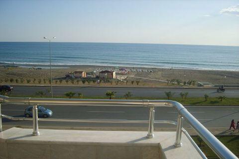 Apartmány v Euro Vip Residence s výhľadom na more v Alanyi - 24