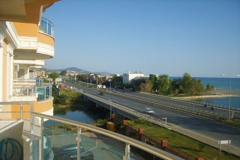Apartmány v Euro Vip Residence s výhľadom na more v Alanyi - 25