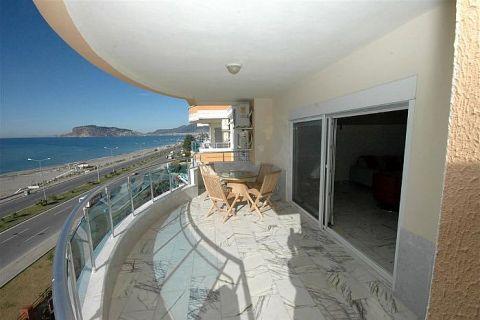 Apartmány v Euro Vip Residence s výhľadom na more v Alanyi - Fotky interiéru - 32
