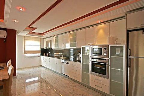 Apartmány v Euro Vip Residence s výhľadom na more v Alanyi - Fotky interiéru - 36