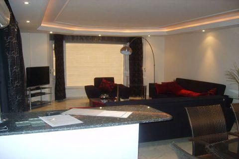 Apartmány v Euro Vip Residence s výhľadom na more v Alanyi - Fotky interiéru - 39