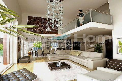Изумительные виллы на продажу в Алании - Фотографии комнат - 10