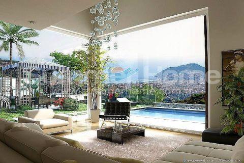 Изумительные виллы на продажу в Алании - Фотографии комнат - 11