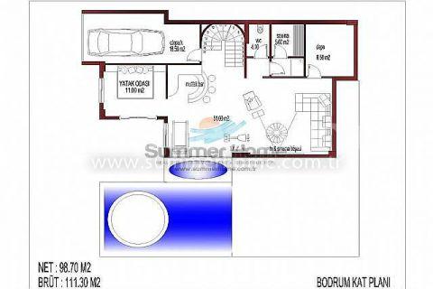 İnci Terrace Atemberaubende Villen - Immobilienplaene - 13