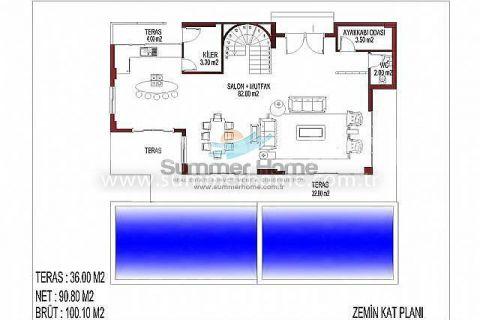 İnci Terrace Atemberaubende Villen - Immobilienplaene - 14