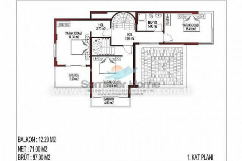 İnci Terrace Atemberaubende Villen - Immobilienplaene - 15