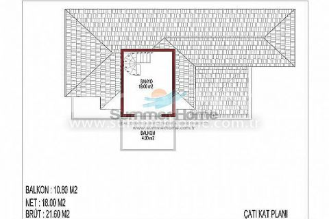 İnci Terrace Atemberaubende Villen - Immobilienplaene - 16