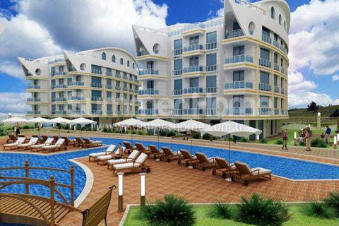 Modieuze appartementen in een aantrekkelijk deel van Antalya