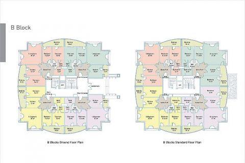 Selçuklu Residence Apartments direkt am Strand - Immobilienplaene - 45