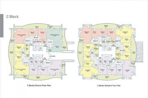 Vkusné apartmány v Alanyi - Plány nehnuteľností - 46