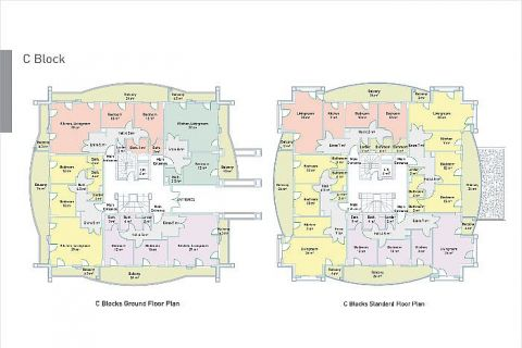 Selçuklu Residence Apartments direkt am Strand - Immobilienplaene - 46
