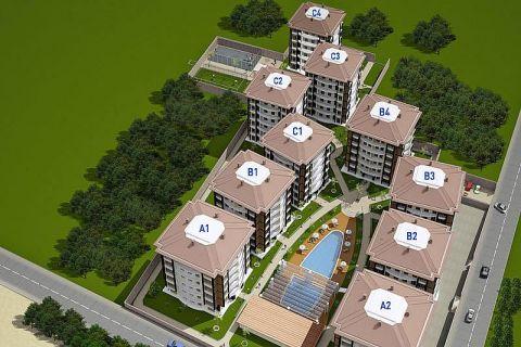 Selçuklu Residence Apartments direkt am Strand - Immobilienplaene - 41