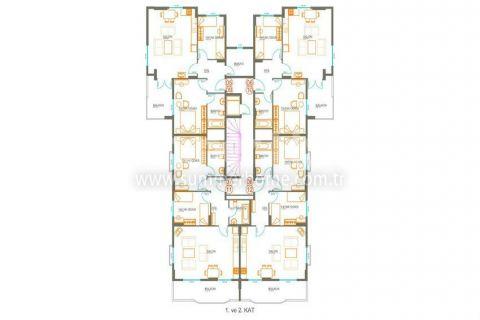 Moderne Residence in Avsallar - Immobilienplaene - 8