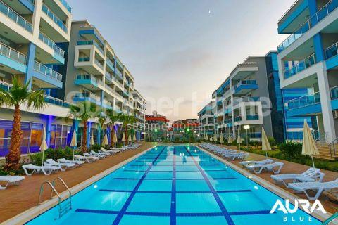 Luxusné 2-izbové apartmány v Aura Blue v Alanyi - 1