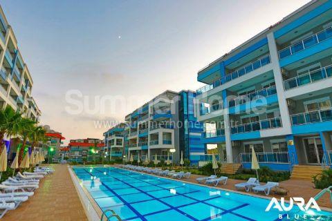Luxusné 2-izbové apartmány v Aura Blue v Alanyi - 2