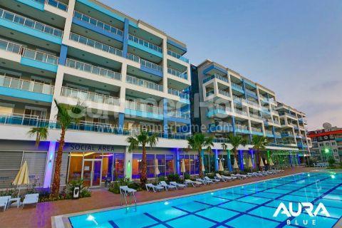 Luxusné 2-izbové apartmány v Aura Blue v Alanyi - 3