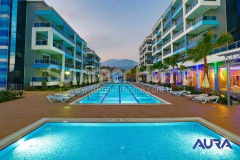 Luxusné 2-izbové apartmány v Aura Blue v Alanyi - 4